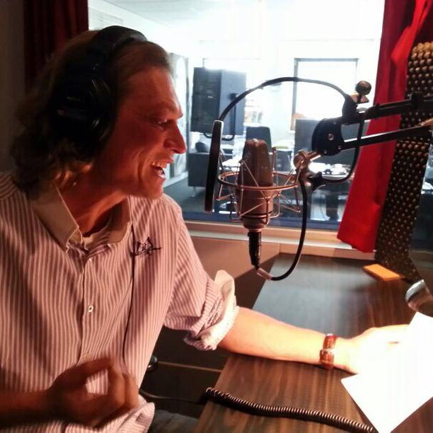 Voice-over portfolio Peter de Gee